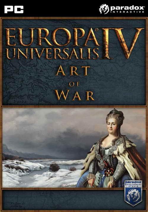 Europa Universalis IV Art of War + 24 DLC ( 1 DVD )