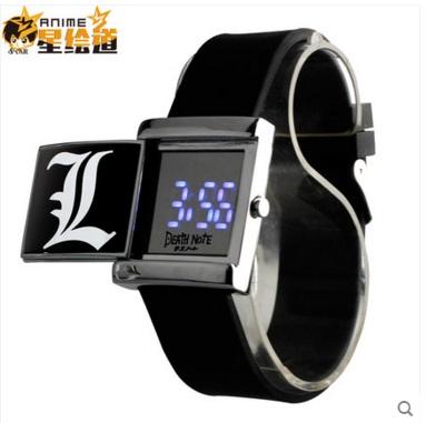 นาฬิกาข้อมือ LED Death Note เดธโน๊ต (สีดำ)