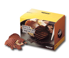 (xyz006)Royce Potato Chips Chocolate มันฝรั่งแผ่นทอดกรอบเคลือบช็อคโกแลต รสชาติเคี้ยวมันเคี้ยวเพลินอร่อยจนคนญี่ปุ่นต่างชื่นชอบค่ะ