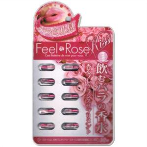 สูตรเร่งด่วน 1 ชม.เห็นผล!!!!Feel Rose น้ำมันเม็ดเจลดอกกุหลาบตัวหัวเชื้่อทำให้ตัวหอมเพิ่มเสน่ห์ บำรุงผิว ที่สาวญี่ปุ่นนิยมทานกันอยู่ตอนนี้!!!!