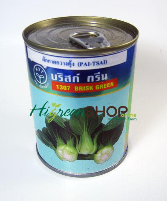 กวางตุ้งฮ่องเต้บริสก์กรีน (Pai Tsai) เพื่อนเกษตร 100 กรัม