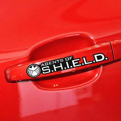 สติ๊กเกอร์รถ ติดมือจับประตูรถ 4 ข้าง Agent of SHIELD
