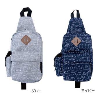 กระเป๋าสะพายเฉียง Sumikko Gurashi (สีเทา)
