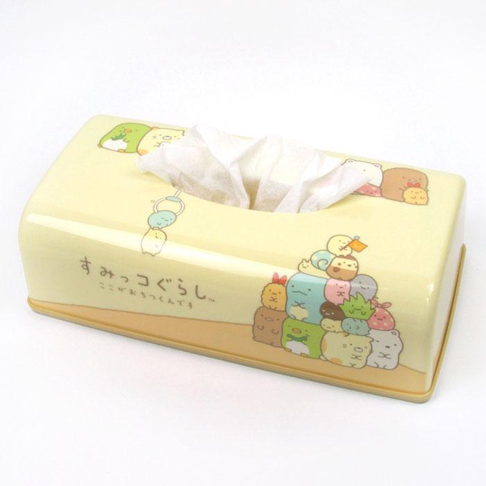 กล่องกระดาษทิชชู่ Sumikko Gurashi สีเหลือง