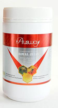 Ausway Royal Jelly 6% 10-HDA 1600 mg 365 เม็ด